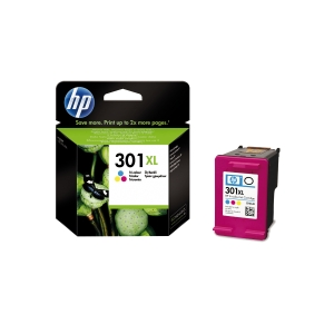 HP 301XL CH564EE TRI-COLOUR INKJET PRINT CARTRIDGE HIGH YIELD