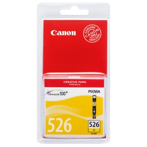 Blækpatron Canon CLI-526 125 sider gul