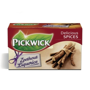 Te Pickwick lakrids pakke a 20 teabreve