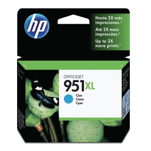 HP 951XL CN046AE OFFICEJET INK CARTRIDGE CYAN