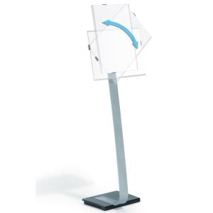 GULVSTANDER SKILTEHOLDER INFO SIGN stand A3