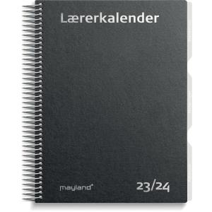 LÆRERKALENDER MAYLAND 8130 00 LÆRERKALENDER A5 MAT SORT
