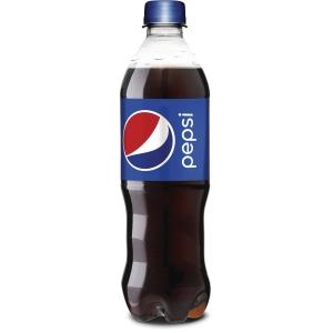 Sodavand Pepsi pet 0,5 l pakket a 24 stk - pris inkl pant