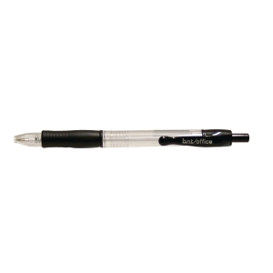 PK50 BNT B/PEN OFFICE 0,7MM BLK