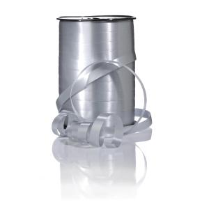 Gavebånd Glossy 10mmx250m sølv