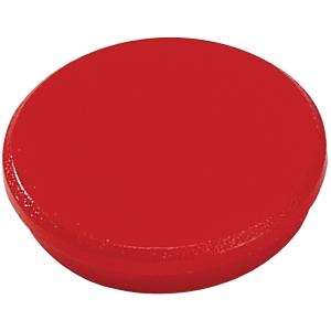 Magnet Dahle, rund, 32 mm, rød, pakke a 10 stk.
