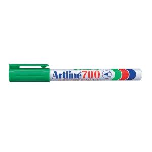 Permanent marker Artline 700, 0,7 mm, grøn