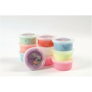 Silk Clay pastel, 40 g, pakke med 10 farver