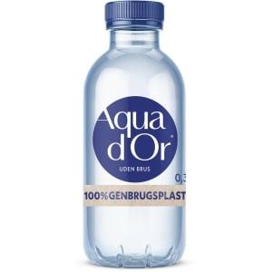 Vand mineralvand Aqua D or 0.30 liter karton a 20 stk  - pris inkl. pant