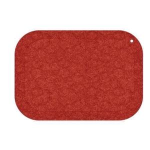 STANDUP FLOOR MATT 53X77CM RED