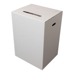 ELECTION BOX 200 LTR 540X450X750MM WHITE