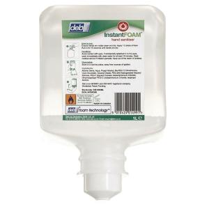 Desinfektionsskum Deb InstantFOAM Uno, 1 L