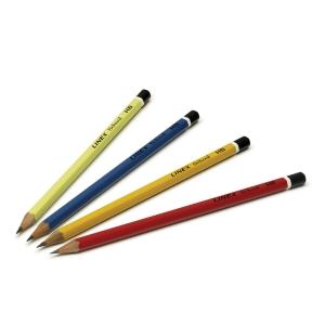 Blyant Linex, HB, pakke a 144 stk. i assorterede farver