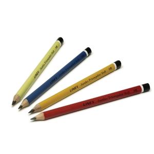 Blyant Linex Jumbo, HB, pakke a 80 stk. i assorterede farver