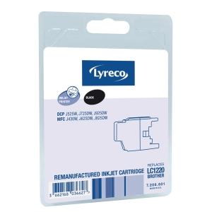 LYRECO I/JET COMP BROTHER LC1220 BLK