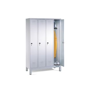 EVOLO LOCKER BASE 4 ROOMS 1200MM GRY/GRY
