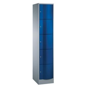 RESISTO LOCKER BASE 1X5 RM 396MM BLU/GRY