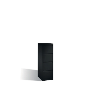 Arkivskab CP Acurado 4 skuffer 135,7 x 43,3 x 59 cm gråsort