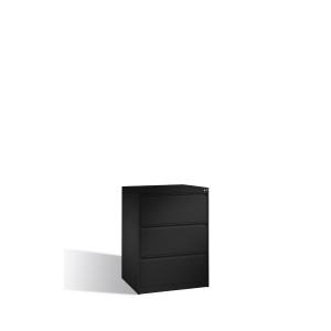 Arkivskab CP Acurado 3 skuffer 104,5 x 78,7 x 59 cm gråsort
