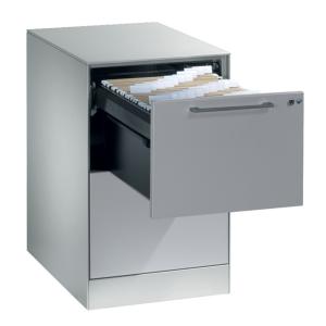 Arkivskab CP Asisto 2 skuffer 69,8 x 44 x 60 cm grå