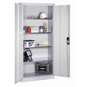 TOOL CABINET 4 SHELF 1950X930X400MM GRY