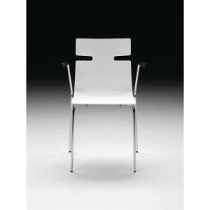 WHISPER CANTEEN CHAIR W/ARMREST WH LAK