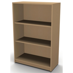 JIVE BOOKCASE 3 R 1153X780X420MM BEECH