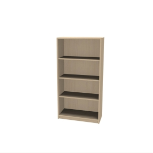 JIVE BOOKCASE 4 R 1505X780X420MM BIRCH