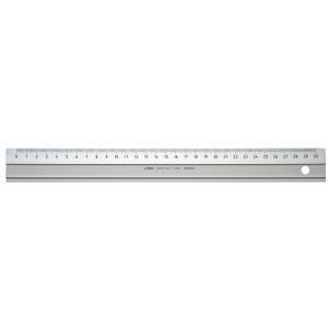 Lineal Linex 30 cm aluminium