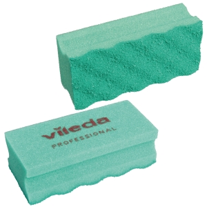 Svamp Vileda Puractive, grøn, pakke a 10 stk.