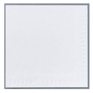 Serviet Finess, 2-lag, 33 x 33 cm, hvid, pakke a 300