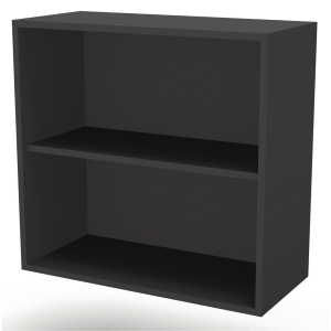 JIVE BOOKCASE 2 R 801X780X420MM BLACK