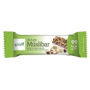 Muslibar mælkechokolade 25 gram pakke a 24 stk