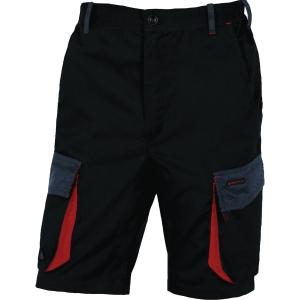 Shorts Deltaplus D-Mach, sort/rød, str. XL