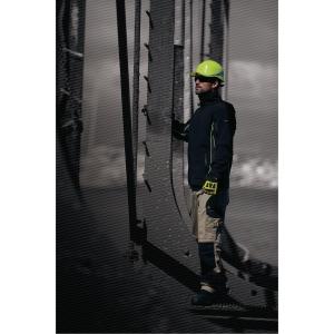 S/Shell jakke Deltaplus Horten sort m