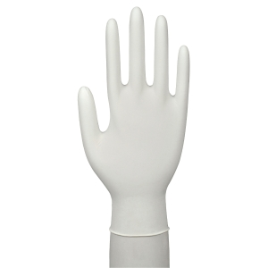 BX150 NITRIL GLOVES POWDERFREE WHITE S