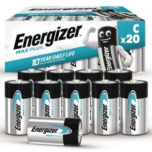 BATTERIER ENERGIZER ALKALINE ADVANCED C PAKKE A 20 STK