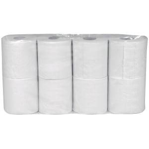 Toiletpapir Abena 2-lags hvid pakke a 64 ruller