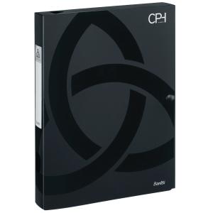 Arkivæske CPH Bantex A4 30 mm sort