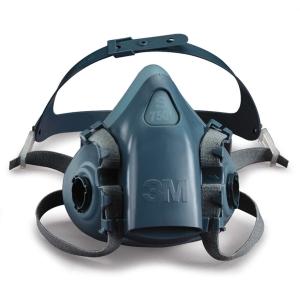 Halvmaske 3M 7501 str. s - åndedrætsmaske