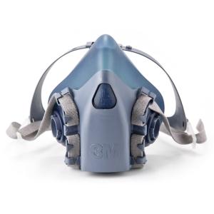 Halvmaske 3M 7503 str. l - åndedrætsmaske