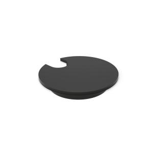 Hæve-sænke-bord tilbehør kabelrosett Ø 72 mm sort pakke a 2 stk