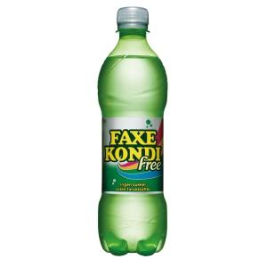 Sodavand Faxe Kondi free pet 0,5 l pakket a 24 stk - pris inkl pant