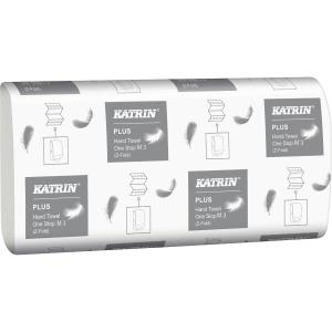 Håndklædeark Katrin 344010 Plus L3 One stop karton a 21 x 90 ark