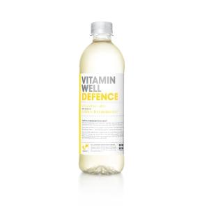 Vitamin Well Defense citron og hyldeblomst 0,5 l pakke a 12 stk - pris inkl pant