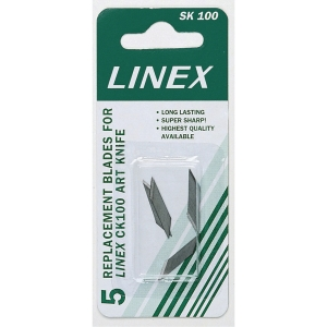 Skæreblade Linex pakke a 5 stk