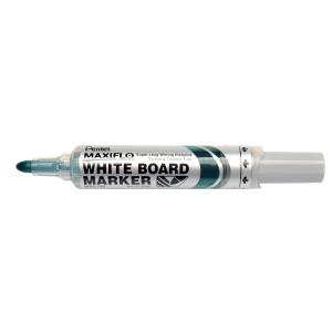 Whiteboardmarker Pentel Maxiflo, rund, grøn