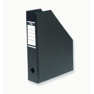 Tidsskriftskassette Elba A4 6,5 cm ryg sort