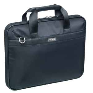 Briefcase Pierre nylon sort