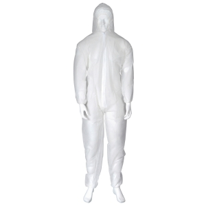 COVERALL PP OX-ON WHITE XL